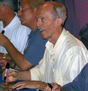 Don Bluth signing autographs