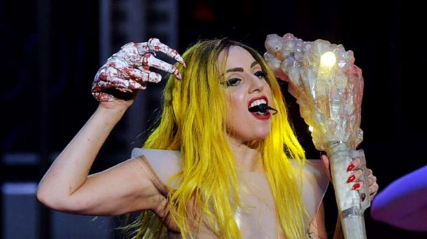 Not welcome ... terror threats forced pop diva Lady Gaga to cancel her Jakarta concert.