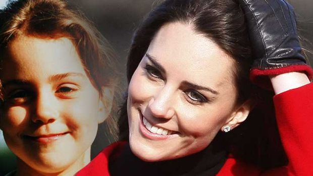 Then and now ... Kate Middleton - bullied as a girl and now to marry a prince.