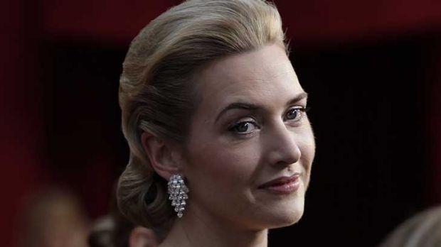 Kate Winslet ... given hell at school for her weight.