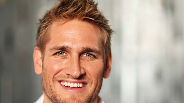 Having his say ... Curtis Stone.