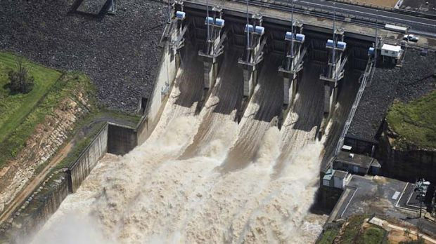 Under scrutiny ... the dam operator has faced criticism over water releases in the day before Brisbane flood.