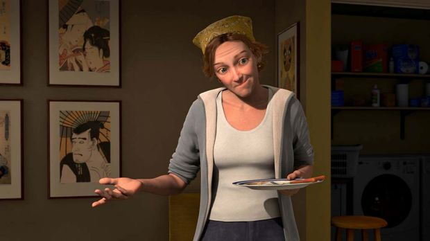 The character Milo's Mom is voiced by Joan Cusack in Mars Needs Moms.