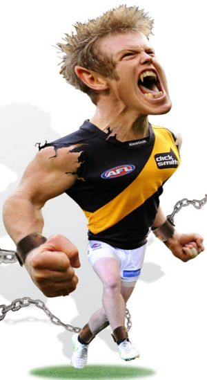 Latest Punt Road favourite... Jack Riewoldt.