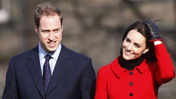 Social mobility exemplified ... Kate Middleton and Prince William.