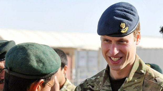 Requesting a tour of duty ... Prince William.