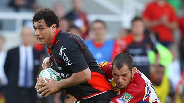 Turning Japanese ... George Smith on the charge for Toulon.