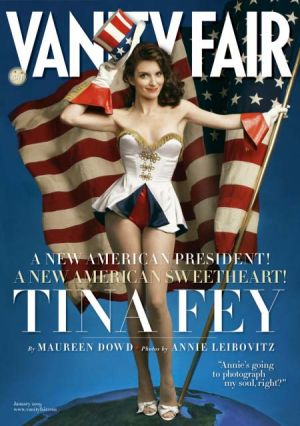 Fey on the cover of Vanity Fair's January 2009 issue.