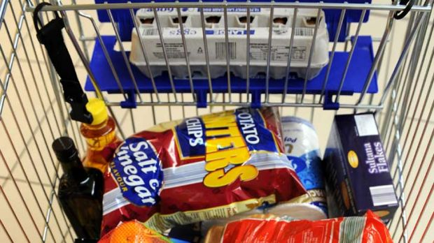 Putting parents at ease ... from Thursday, food bought from Aldi will be free of artificial colours.
