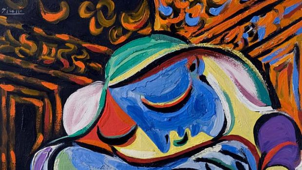 Prolific collaboration ... Jeune fille endormie was one of many paintings Picasso did of Marie-Therese Walter. He ...