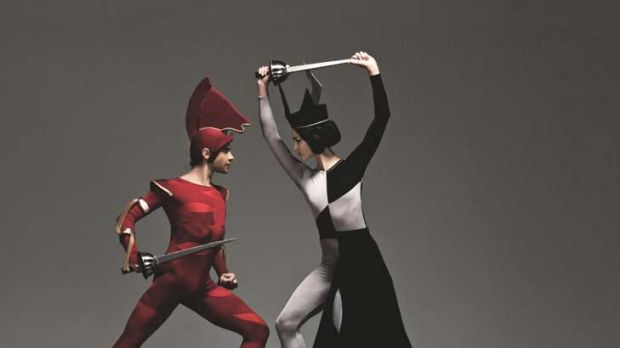 Ballets come with a little cut and thrust