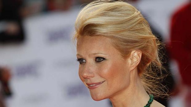 C-word shock ... Gwyneth Paltrow.
