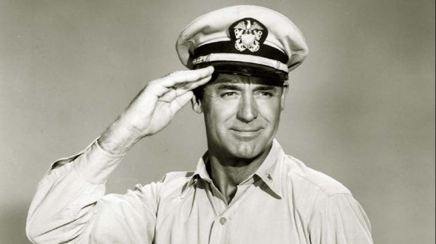 Cary Grant in the 1959 film Operation Petticoat.