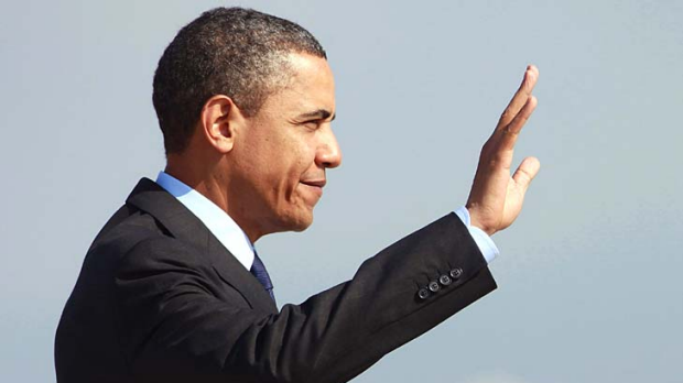 Setting it straight . . . Barack Obama addresses the issue of his birth certificate.