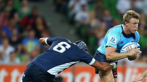 Lachie Turner returns to the wing for the NSW Waratahs.