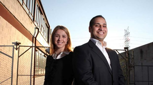 Maysaa and Moustafa Fahour, founders of the Islamic Museum of Australia planned for Thornbury, hope it can break down ...