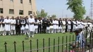 Pakistani lawyers pray for bin Laden (Video Thumbnail)