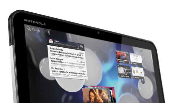 Same price as the iPad 2 but a bit too heavy ... Motorola's Xoom.