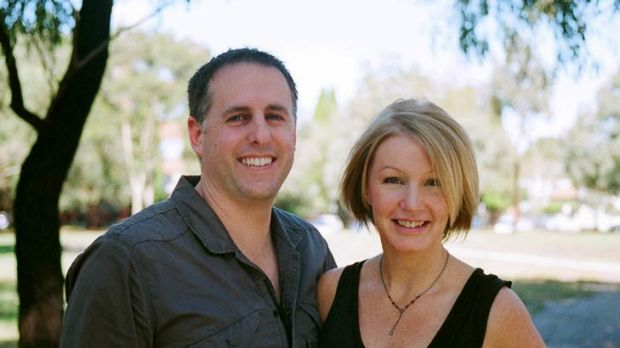 Shawn Smith, pictured with partner Nicole Kavanagh, uses an online accounting service for his photography business.