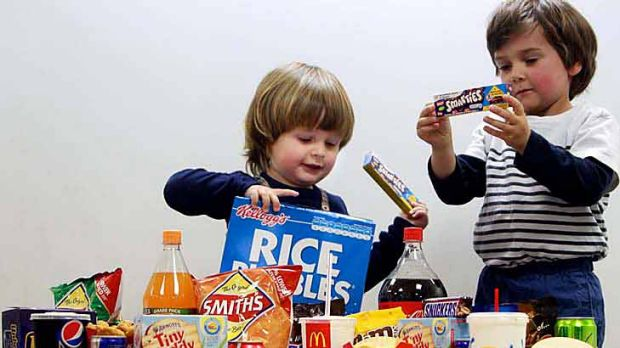 Foods advertised during the ad breaks of the nation's three most popular programs for children aged five to 12 years ...