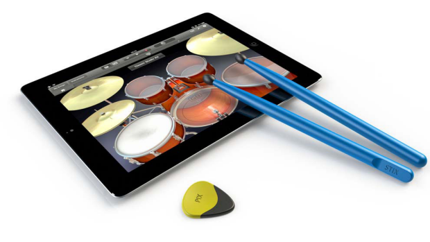 The Pix and Stix products for the iPad.