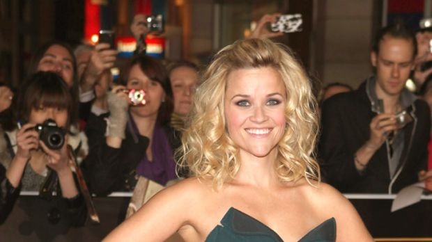 Hospitalised ... Reese Witherspoon injured in traffic accident.