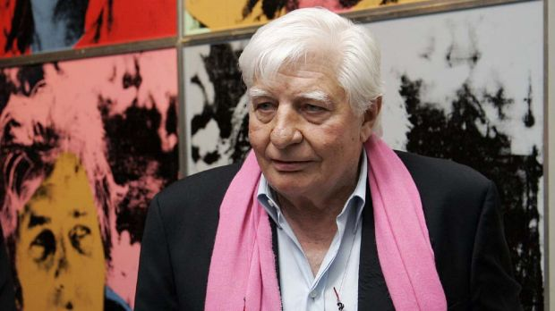 Gunter Sachs  at the opening of an exhibition of his work  Art is Female in  Leipzig in 2008.