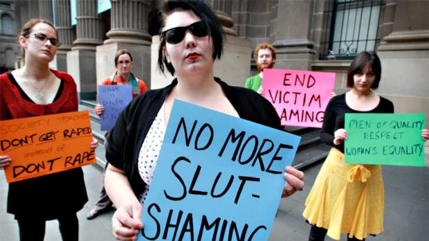 Oragniser Lauren Clair and others who will be on the slutwalk.