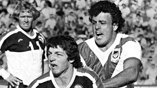 Prodigy ... Phil Gould captained the Panthers aged just 20.