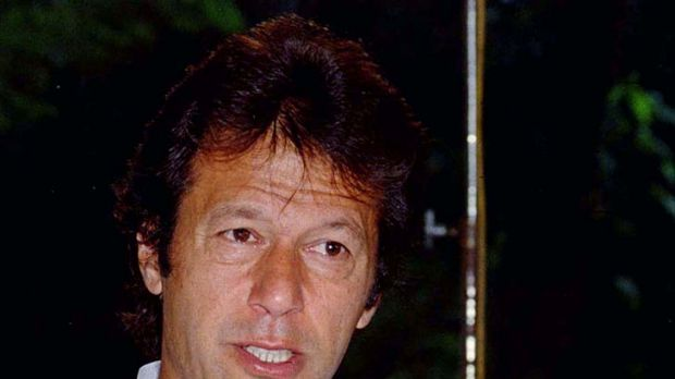 Imran Khan ... planning a NATO blockade.