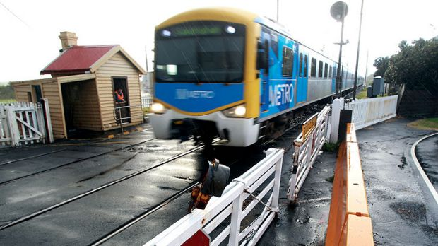 Railroaded through: The New Street level crossing in Brighton is being upgraded despite being No. 223 on the priority list.