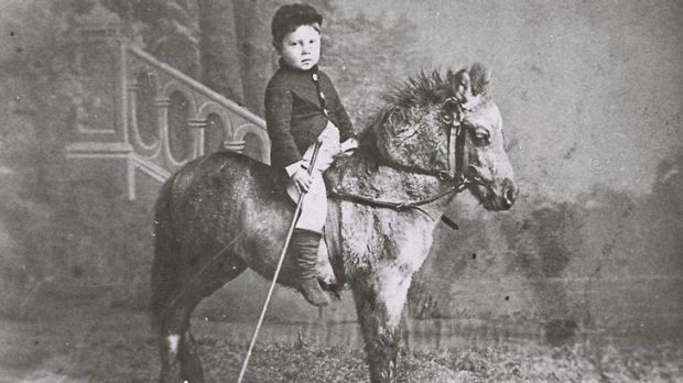 Little Gus St Leon from the book Circus: The Australian Story