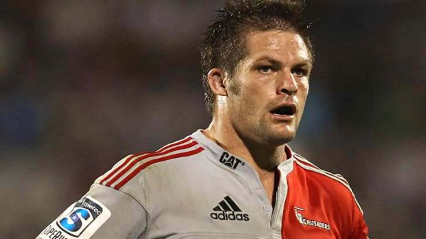 Richie McCaw has made one starting appearance for  the Crusaders this season.
