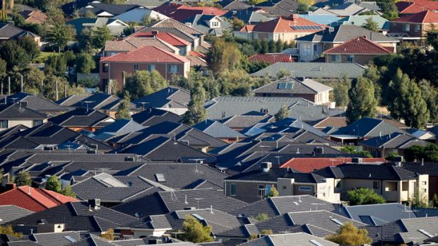 Binge ...  rising house prices mean bigger mortgages and more profits for the banks.