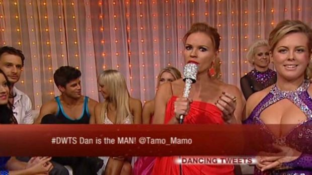#phoney? ... tweets aired on <i>Dancing with the Stars</i>