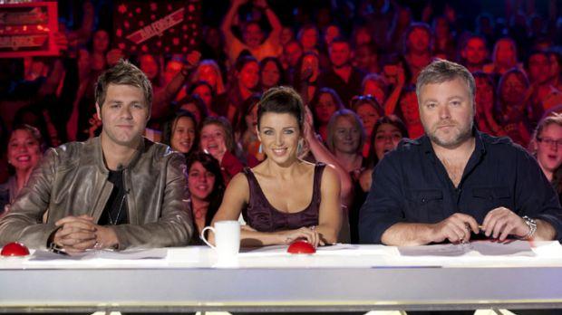 The hosts of Australia's Got Talent.