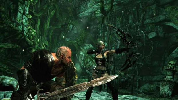 Hunted: The Demon's Forge will bring together blades and arrows in two-player co-operative mode.