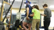 Groundbreaking research: paraplegic stands up (Video Thumbnail)