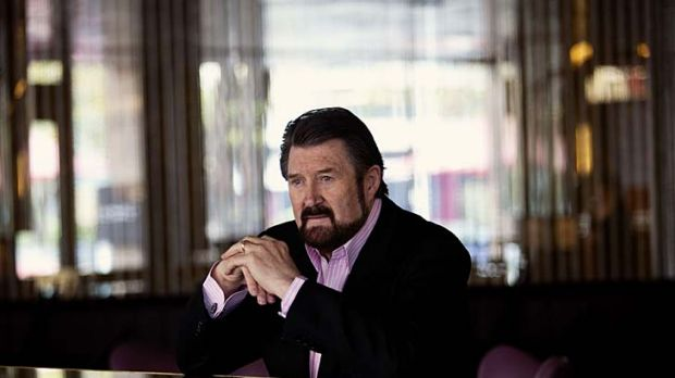 Derryn Hinch: A picture of health yesterday at Melbourne's Royce Hotel, but without a liver transplant he is just three ...