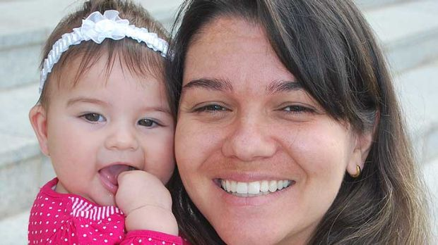 Perth Mother Tatiane Fonseca was disgusted with the idea of baby beauty pageants.