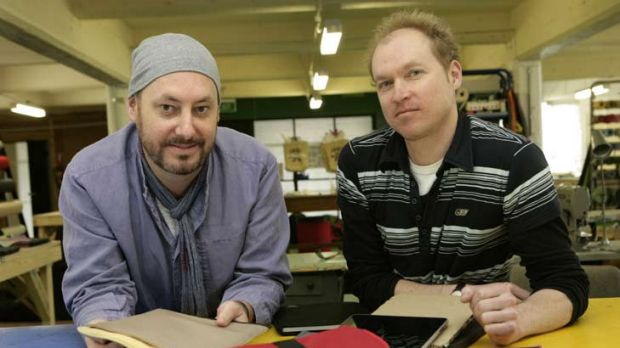 Crumpler's Dave Roper (left) and Will Miller.