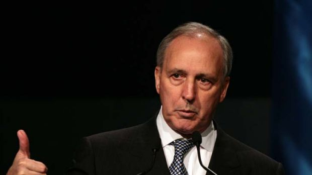 Moving up ... Former Federal Treasurer and Prime Minister Paul Keating could become the new IMF chief.