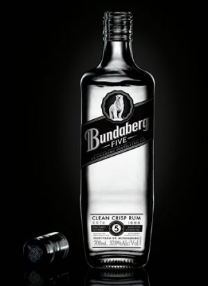 Bundaberg Rum's new white rum comes out next week.