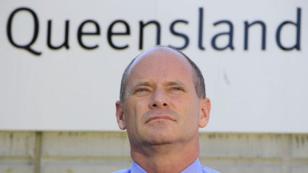 Liberal National Party leader-in-waiting Campbell Newman.