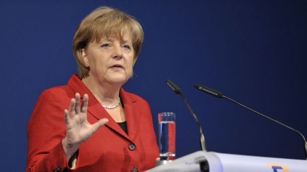 """""""This decision is consistent, decisive and clear"""" ... Angela Merkel."""