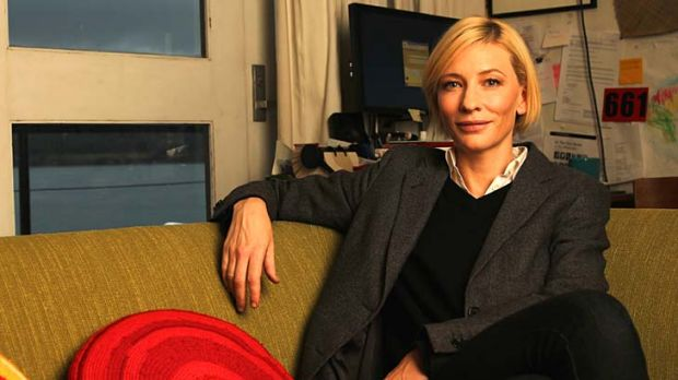 Cate Blanchett ... ''There is a societal cost of increased pollution and that's what I'm passionate about as a mother.''