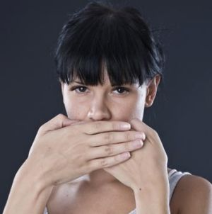 Watch your mouth ... on-the-spot fines are set to be handed out for offensive behaviour and indecent language.