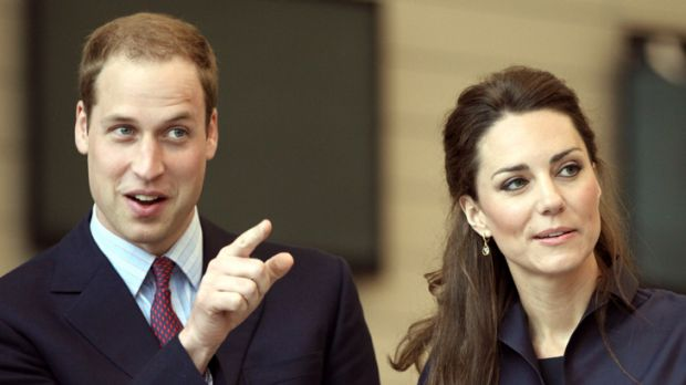 On the lookout ... Prince William and Kate Middleton are hiring.