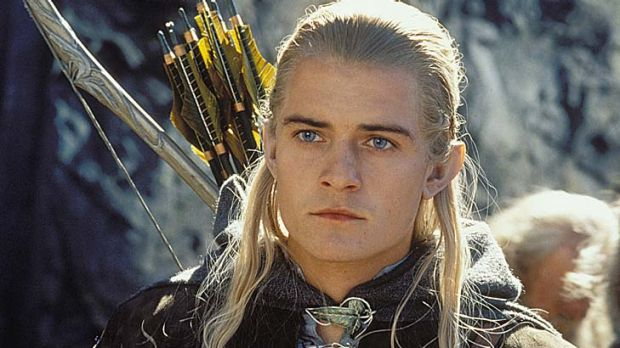 He's back ... Orlando Bloom as Legolas in one of the Lord of the Rings films.