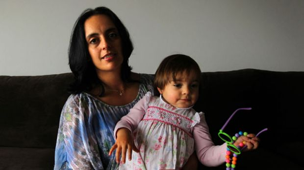 Taken by surprise ...  Carolina Barrero, 35,  had surgery to remove the cancer. There was no family history of the disease.